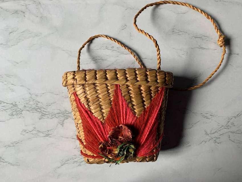 Artesanía mexicana de Taxco. Cartera