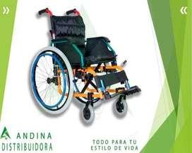 Silla De Ruedas Para Niño Plegable, Pediátrica, Century
