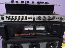 Se vende maquina equalizador y mixer