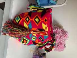 Mochilas Wayuu grandes originales