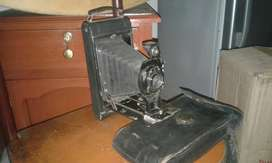 Amtigua Camara Kodak con Fuelle 1914 Vin