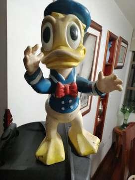 Pato Donald muñeco antiguo bartoplas