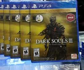 DARK SOULS 3 EDICION COMPLETA PS4 NUEVO SELLADO