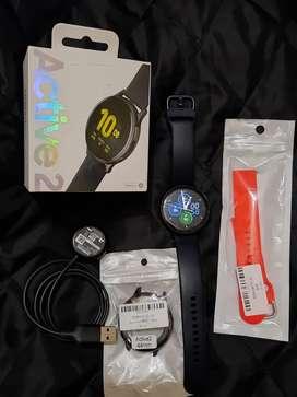 Galaxy Watch Active 2, 44 mm Alum. Escucho ofertas. Acepto Mercado pago a través de la aplicación.Tarj. cred Devito