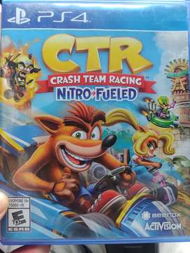 CRASH TEAM RACING CTR PS4