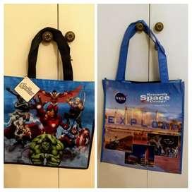 Bolsas resistentes infantiles: NASA Space y Avengers. Nuevo