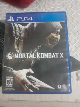 Se vende juego de ps4 mortal kombat X