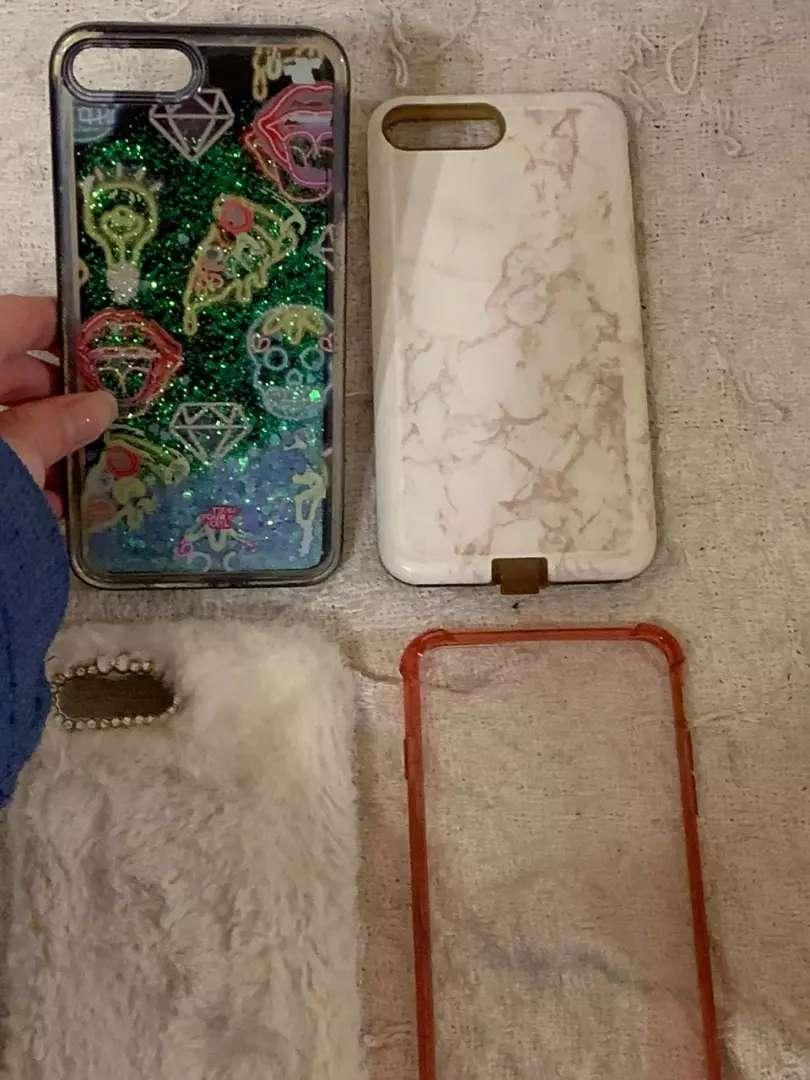 Carcasas para iphone 7plus y 8plus