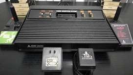 Atari 2600 + 12 juegos Impecable y funcionando