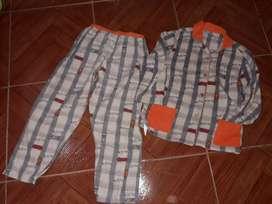 Pijama para niño de invierno talle 8