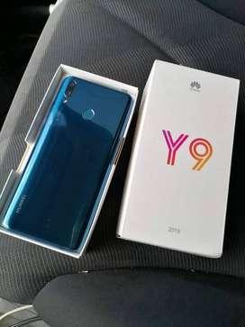 Celular huawei y9 2019 azul nuevo 64gb