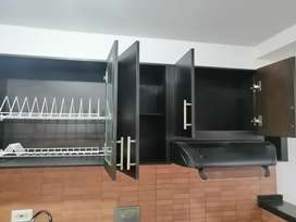 Gabinetes cocina integral en madera