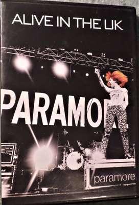 Paramore. Alive in the UK. Dvd original.