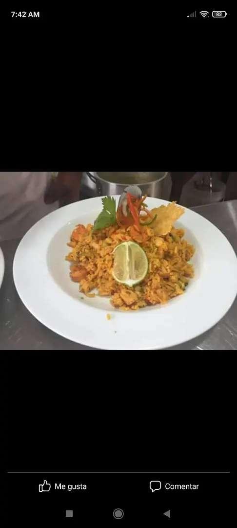 Busco empleo cocinero experiencia en menú ejecutivo platos carta