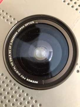 Lente de Camara Neewer Macro Profesional HD. 0.35x58MM