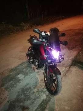Se vende pulsar ns 200 año 2014 o cambio con otra moto