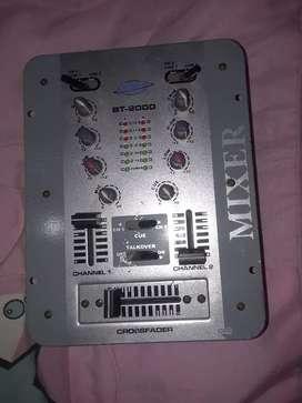 Mezclador d audio MIXER  negosiable