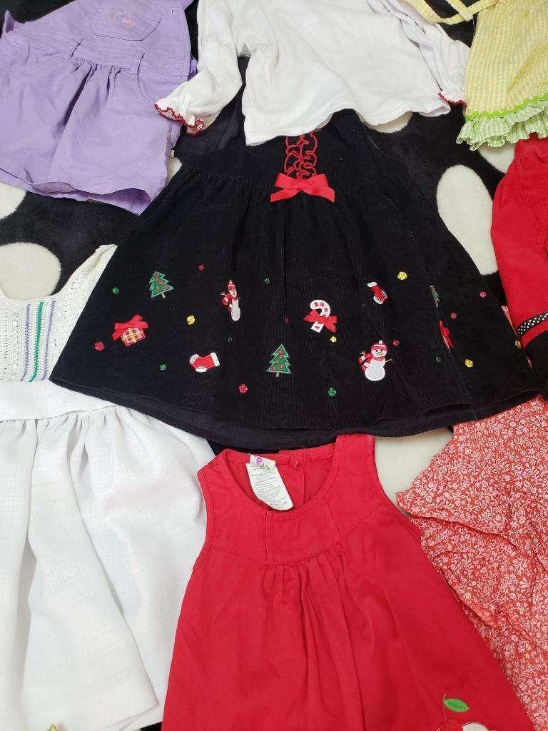 Vestidos para Niña 1 a 2 Años Una Puesta ideal para navidad 0