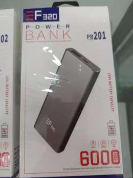 Power bank, cargador portatil 6000 mah