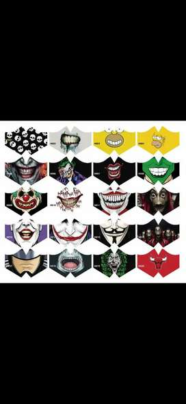 mascarillas 3 capas sublimas