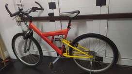 Mountain bike full suspensión 26