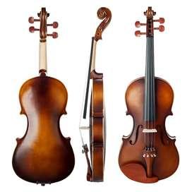 violin 4/4 mate de calidad el mejor sonido calibrado
