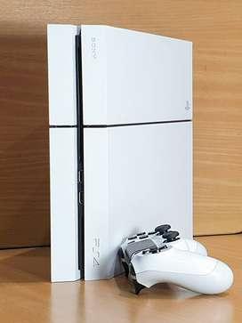 Sony Playstation 4 Fat 500 Gb Con *4 Juegos* Y *2 Joysticks* + Envio Gratis