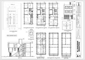 Levantamiento y digitalizacion de planos Delineante de arquitectura Dibujante Autocad y Revit