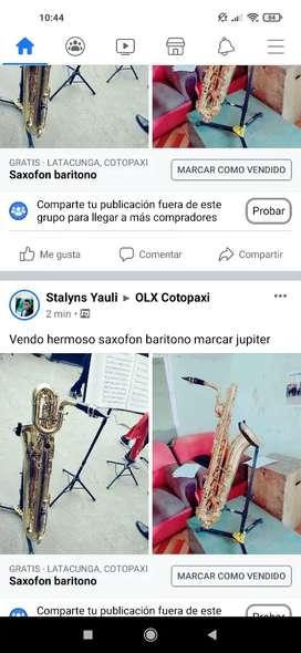 Saxofon baritono