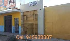 Alquilo Local Comercial y oficina Av principal Parcona - Ica
