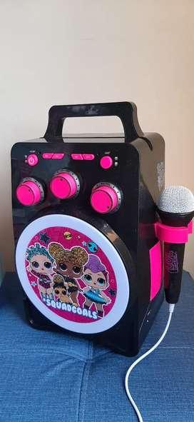 Lol karaoke como nuevo para niñas de 2 a 7 años