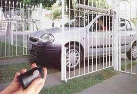 rejas eléctricas puertas portones con motor