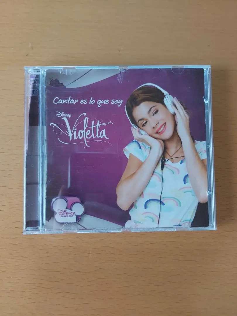 Violetta cantar es lo que soy cd y dvd Disney original ver