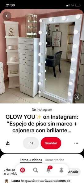 Espejo makeup