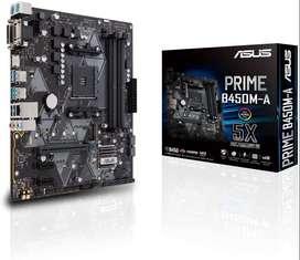 Board ASUS PRIME B450M-A