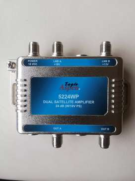 Amplificador para TV satelital de 24 db aspen eagle