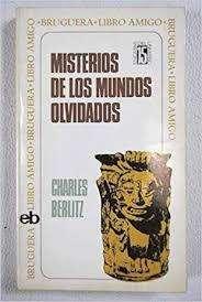 Misterios De Los Mundos Olvidados  Charles Berlitz (autografiado ) 0