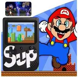 Miniconsola Retro Portatil Nintendo con 400 juegos para niños