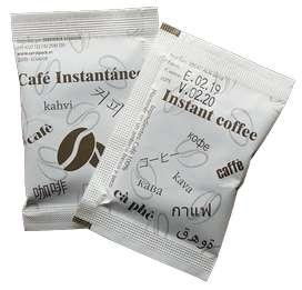 Sachet de café soluble 2gr