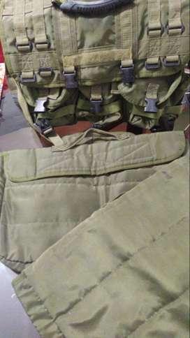 Maletín Militar/Policía con dos bolsas de portátil