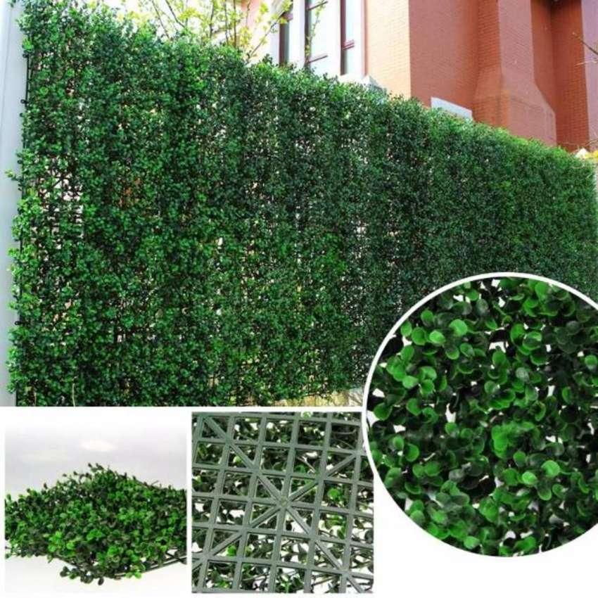 Jardín artificial para interior y exterior  Tapete follaje 40x60cm 2021 importación