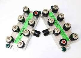 8 Way Splitter banda ancha etiqueta verde Aprobado por un puerto DC Path Slim Line SWM Tecnología 1 entrada 8 de salida