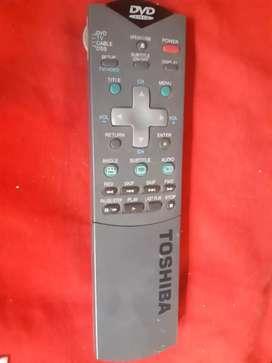 Control remoto Toshiba dvd video