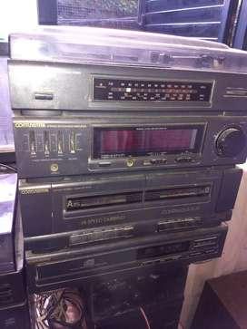 Equipo de música  vintage