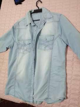 Camisa gris en venta talla L