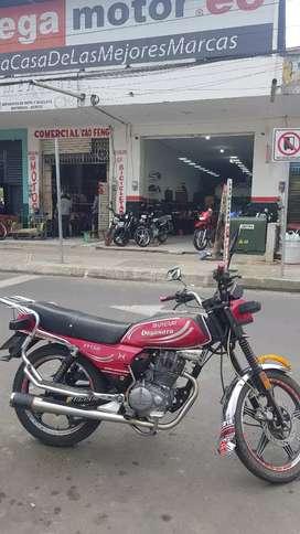Moto shineray xy150I año 2018 flamante
