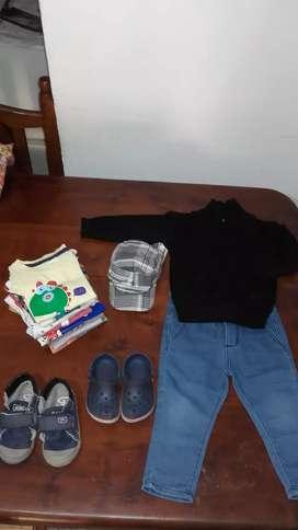 Lote de ropa y calzados de niño en buen estado (para varon)