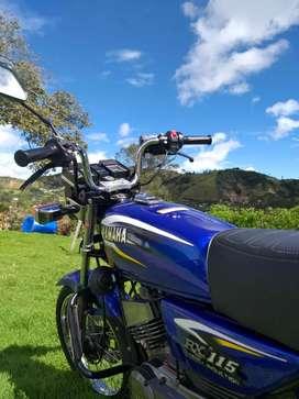 Moto Rx 115 Yamaha