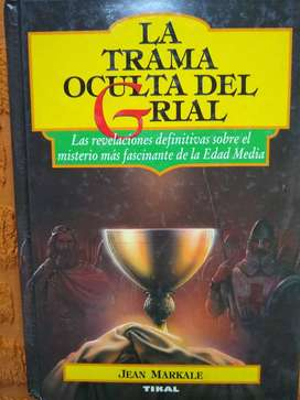 libro La Trama Oculta Del Grial- Markale coleccion