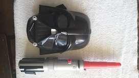Star Wars Darth Vader Máscara y Espada